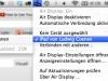 Bildschirm von Mac und iPad verbinden