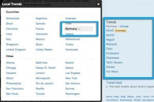 Twitter Trendthemen: Trending Topics