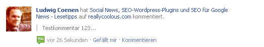 Facebook-Kommentare in WordPress