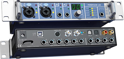 RME Fireface UC - Audio-Interface mit USB-Anschluss