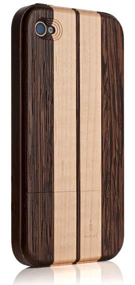 iPhone-Hüllen aus Holz: mit Streifen