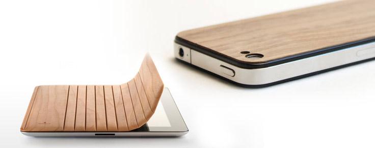 Post image for iPhone Hüllen, iPad Abdeckung und ein Hackbrett: Holz ist Trumpf