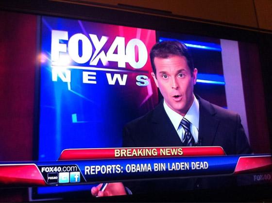 Obama bin Laden: Schlagzeile auf Fox News