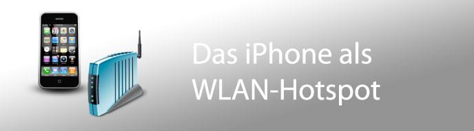 Das iPhone als WLAN-Modem nutzen